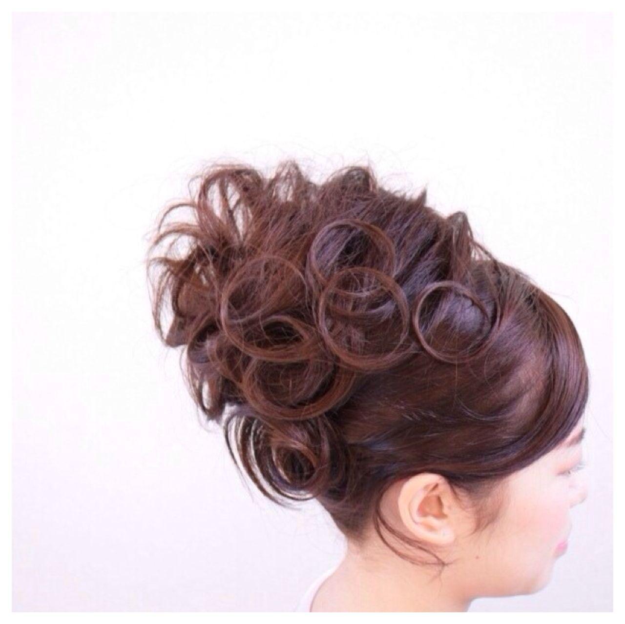 モテ髪 愛され コンサバ セミロングヘアスタイルや髪型の写真・画像