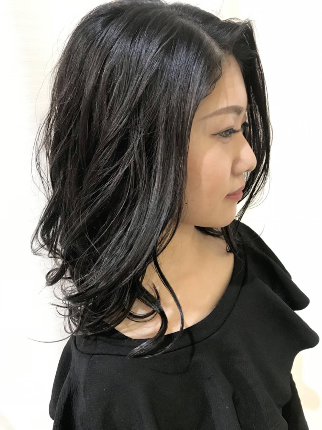 ヘアアレンジ デート エレガント パーマヘアスタイルや髪型の写真・画像