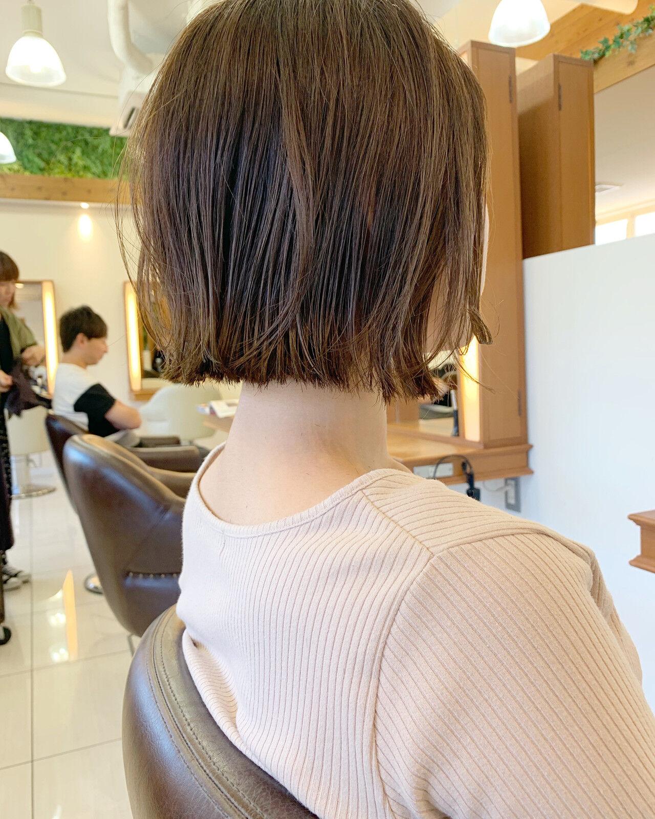 ショート ミニボブ 簡単ヘアアレンジ 大人可愛いヘアスタイルや髪型の写真・画像