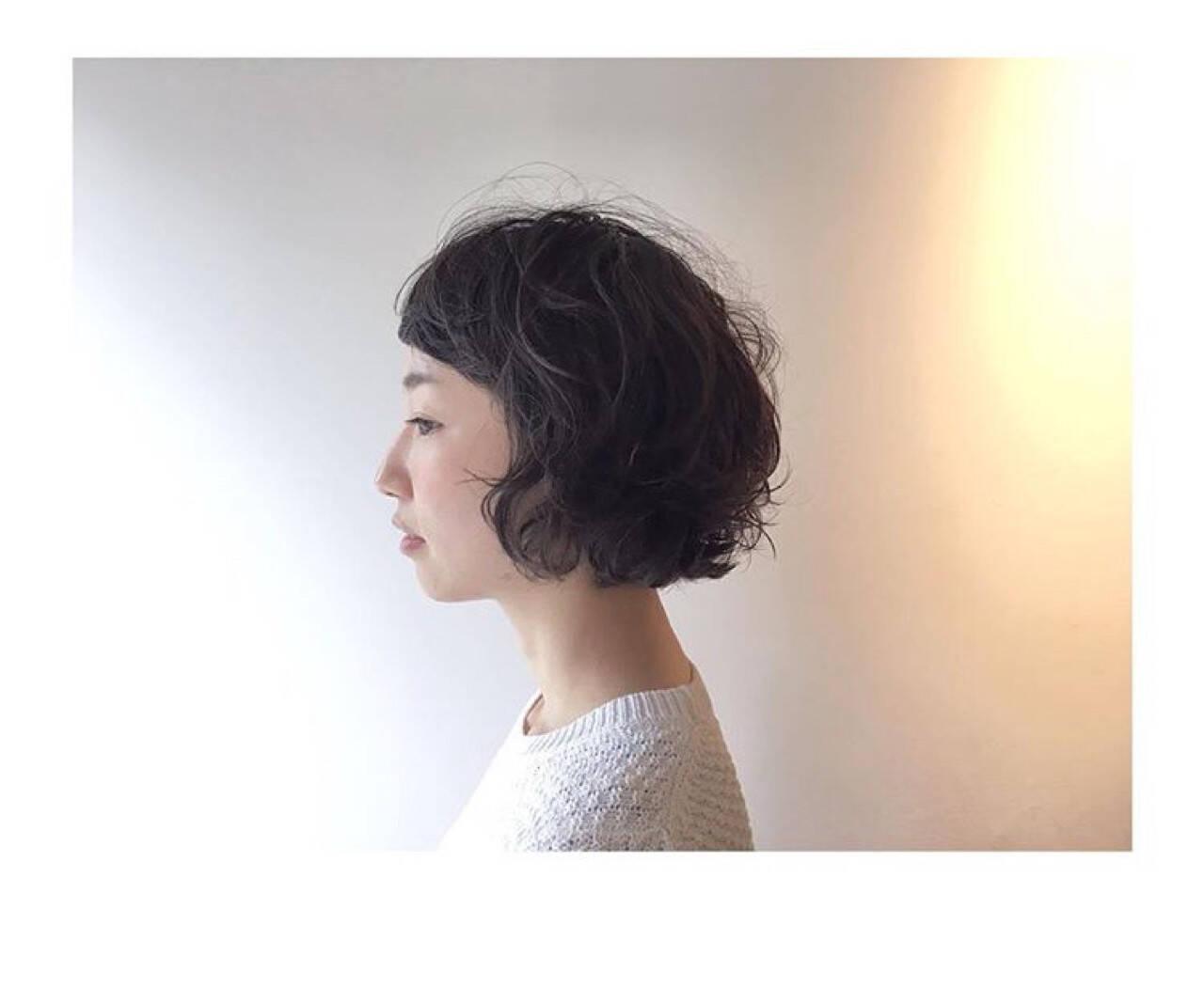 ラフ パーマ 大人女子 ゆるふわヘアスタイルや髪型の写真・画像