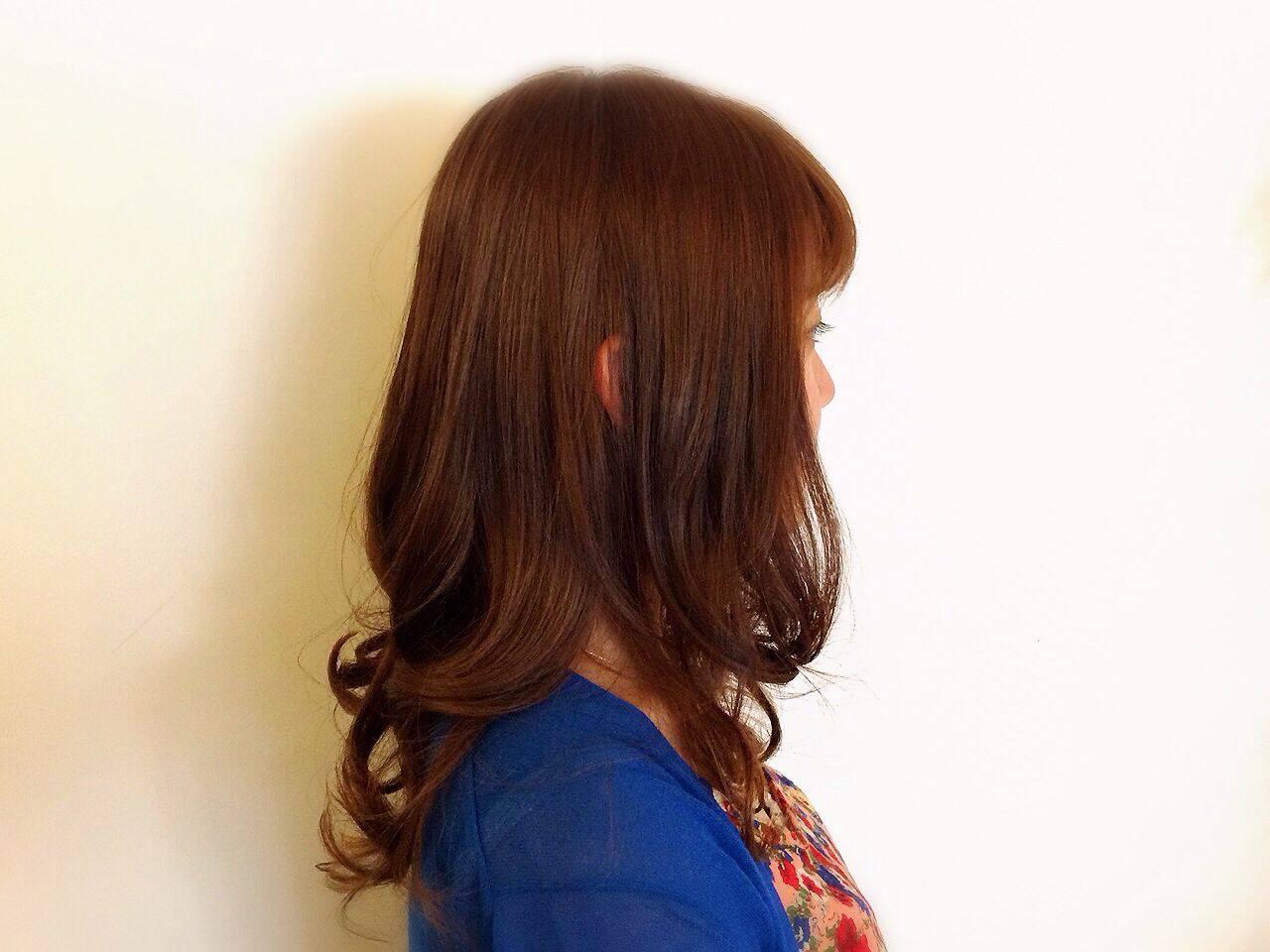 モテ髪 ナチュラル 愛され ゆるふわヘアスタイルや髪型の写真・画像