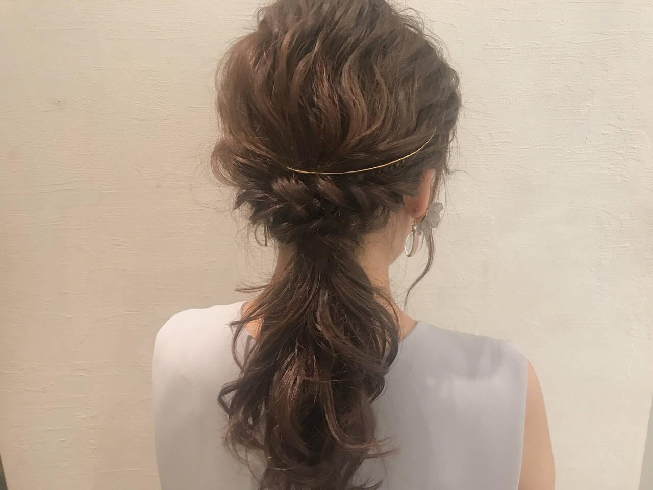 大人かわいい セミロング ウェーブ デートヘアスタイルや髪型の写真・画像