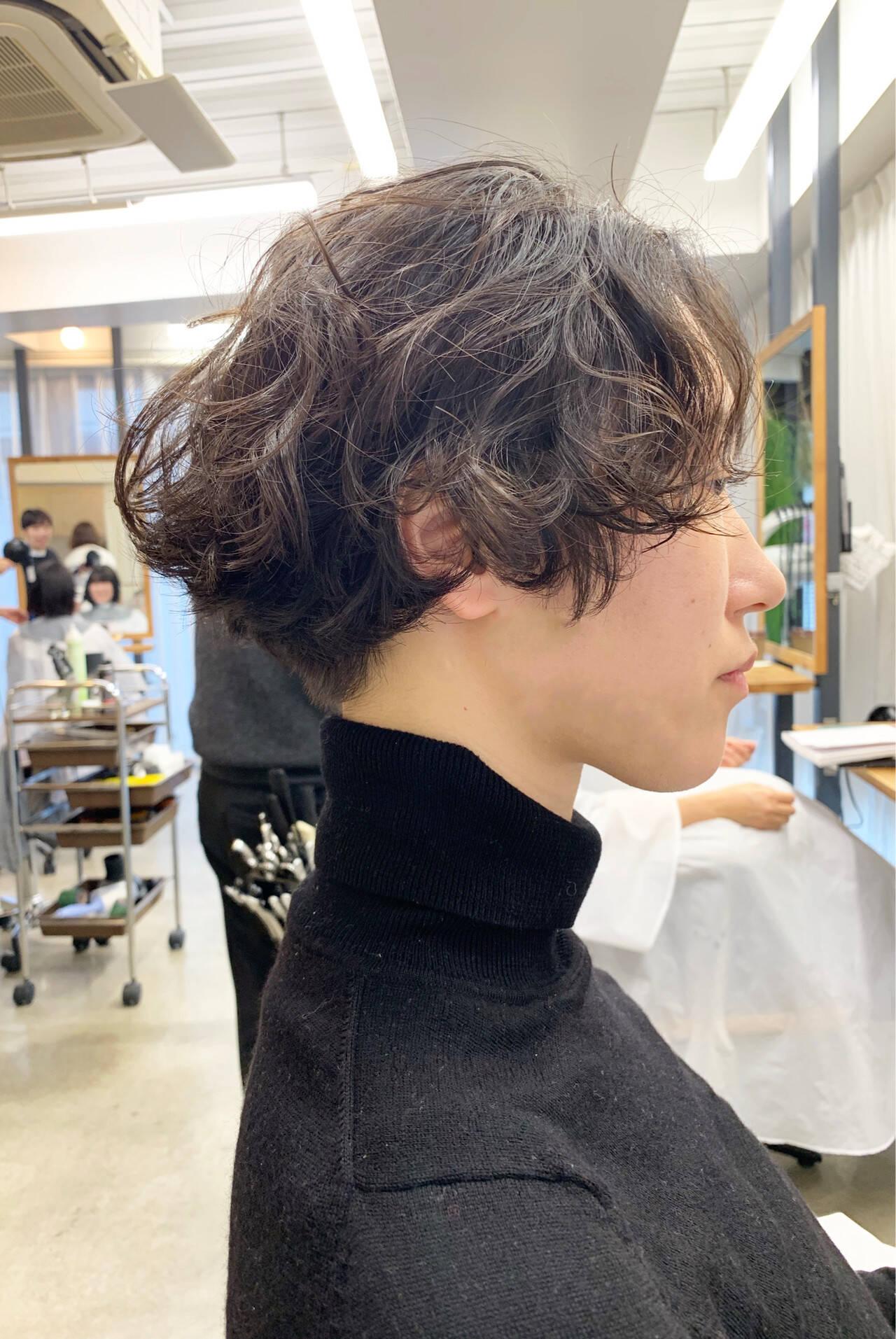ウェーブ ボブ ふわふわ ヘアアレンジヘアスタイルや髪型の写真・画像