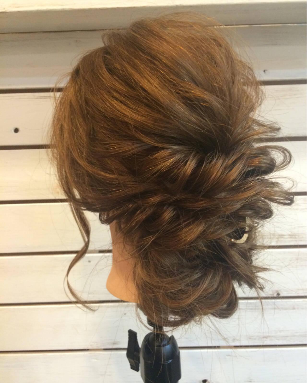 ヘアアレンジ ロング 着物 アップスタイルヘアスタイルや髪型の写真・画像