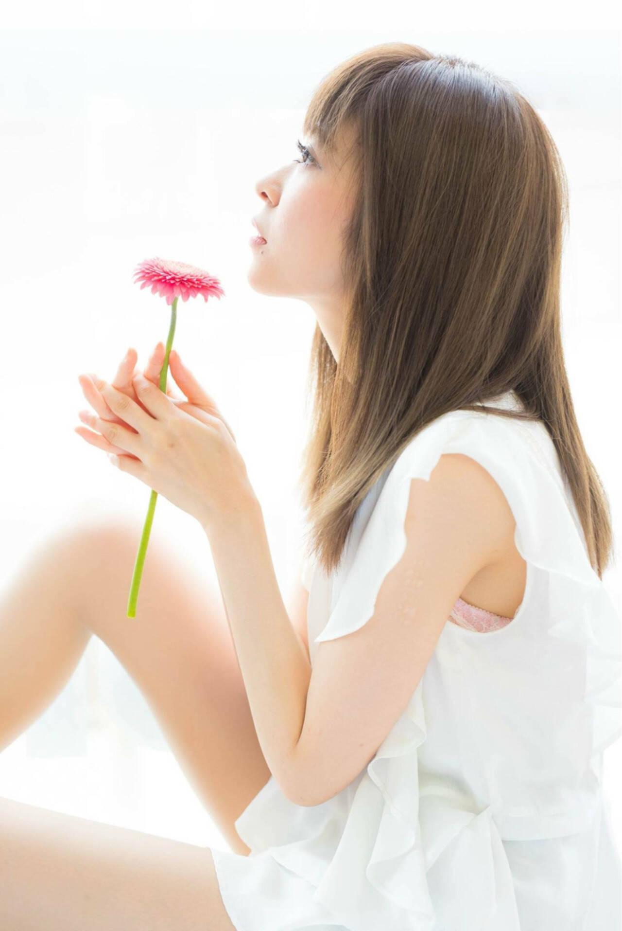 透明感 コンサバ デート 大人女子ヘアスタイルや髪型の写真・画像