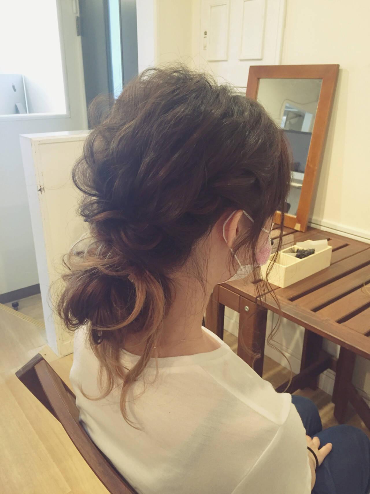 ロング 夏 ナチュラル 涼しげヘアスタイルや髪型の写真・画像
