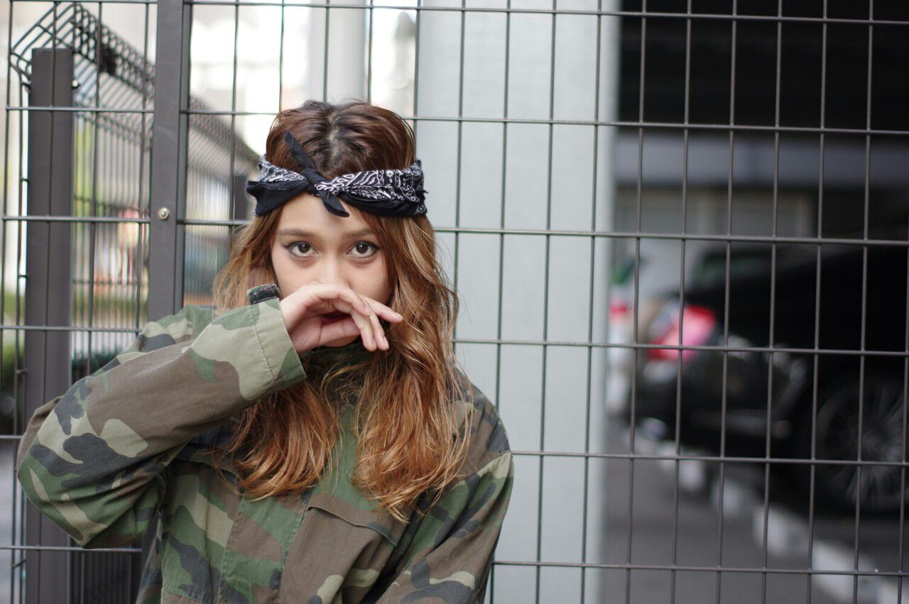 ショート ハイライト ロング ヘアアレンジヘアスタイルや髪型の写真・画像