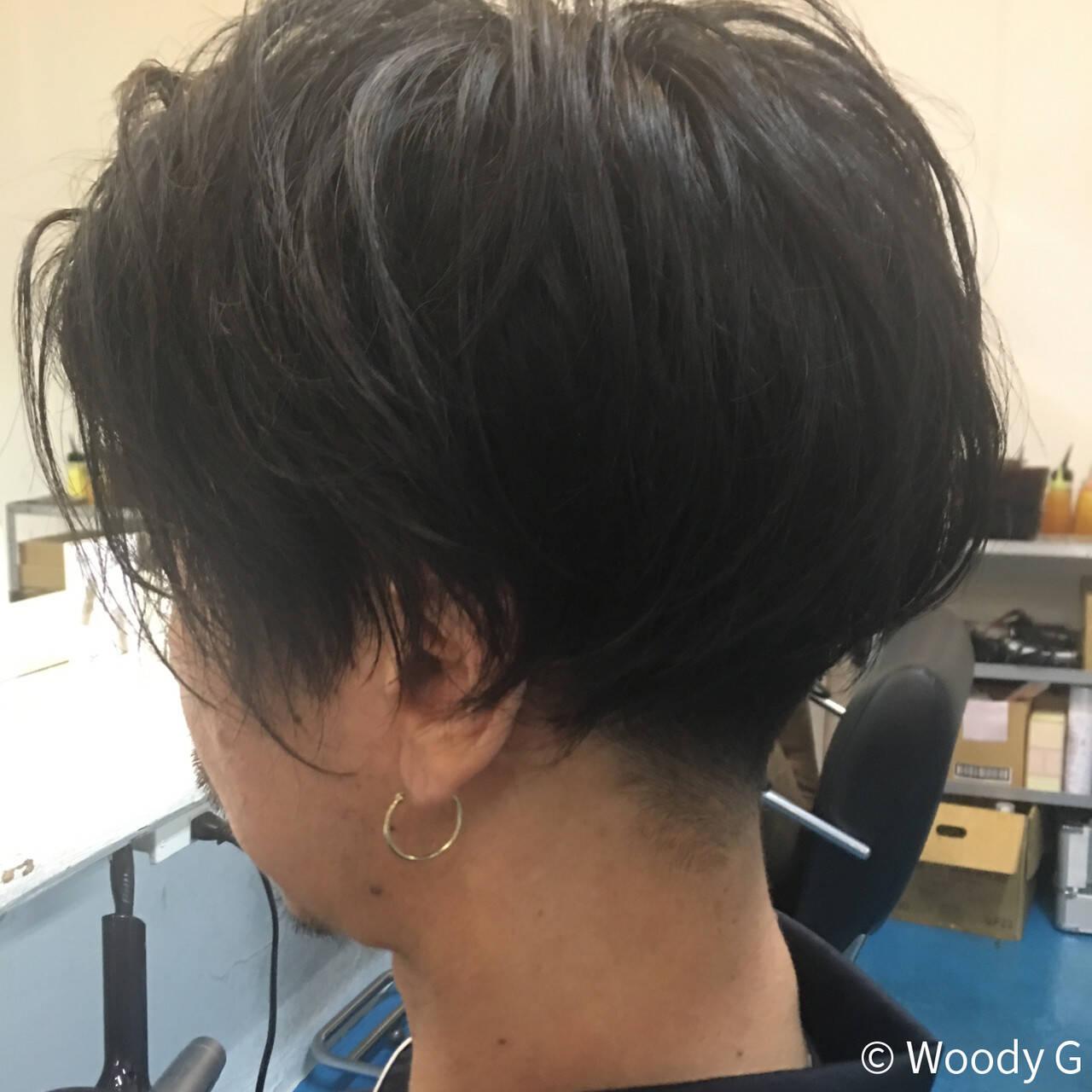 刈り上げ ボーイッシュ ショート メンズヘアスタイルや髪型の写真・画像