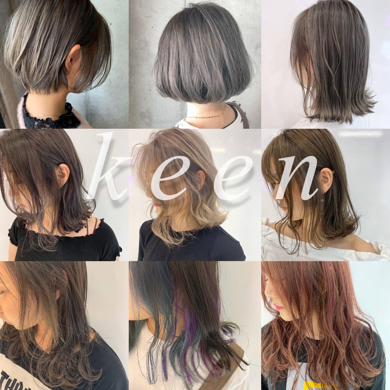 ショートヘア ミルクティーベージュ グレージュ ショートボブヘアスタイルや髪型の写真・画像