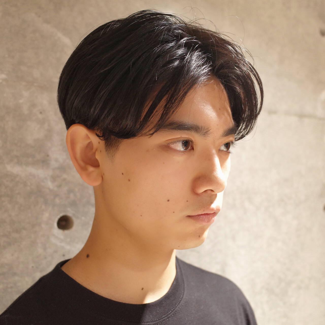 ナチュラル メンズ ショート メンズヘアヘアスタイルや髪型の写真・画像