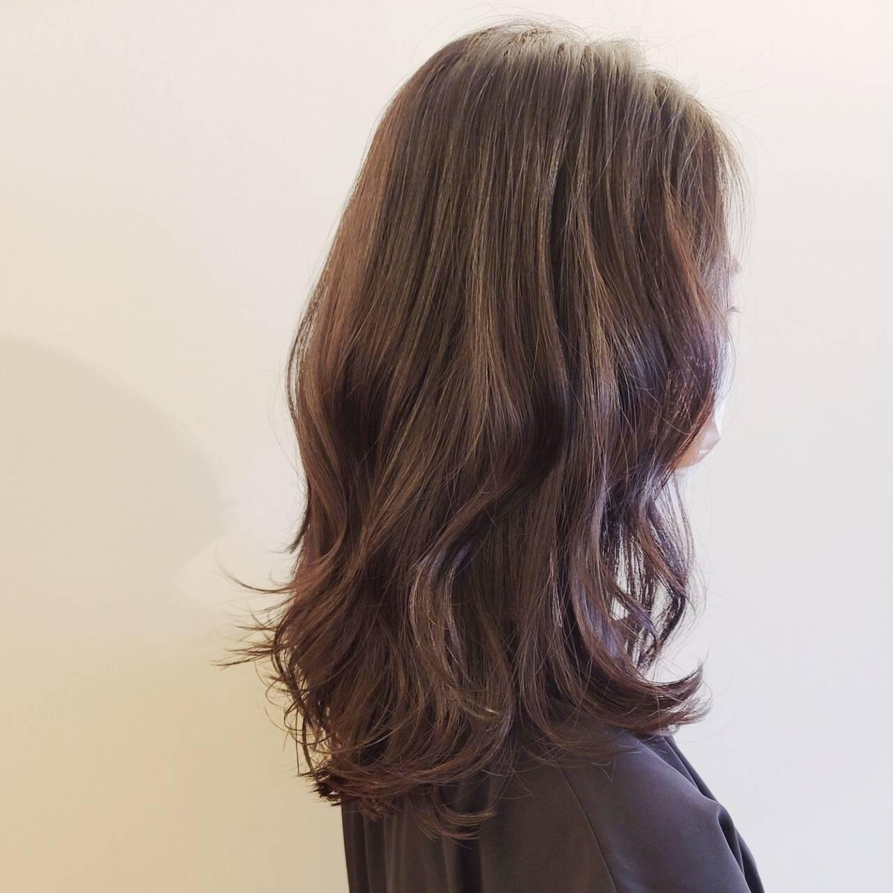 TOKIOトリートメント 大人女子 セミロング 最新トリートメントヘアスタイルや髪型の写真・画像