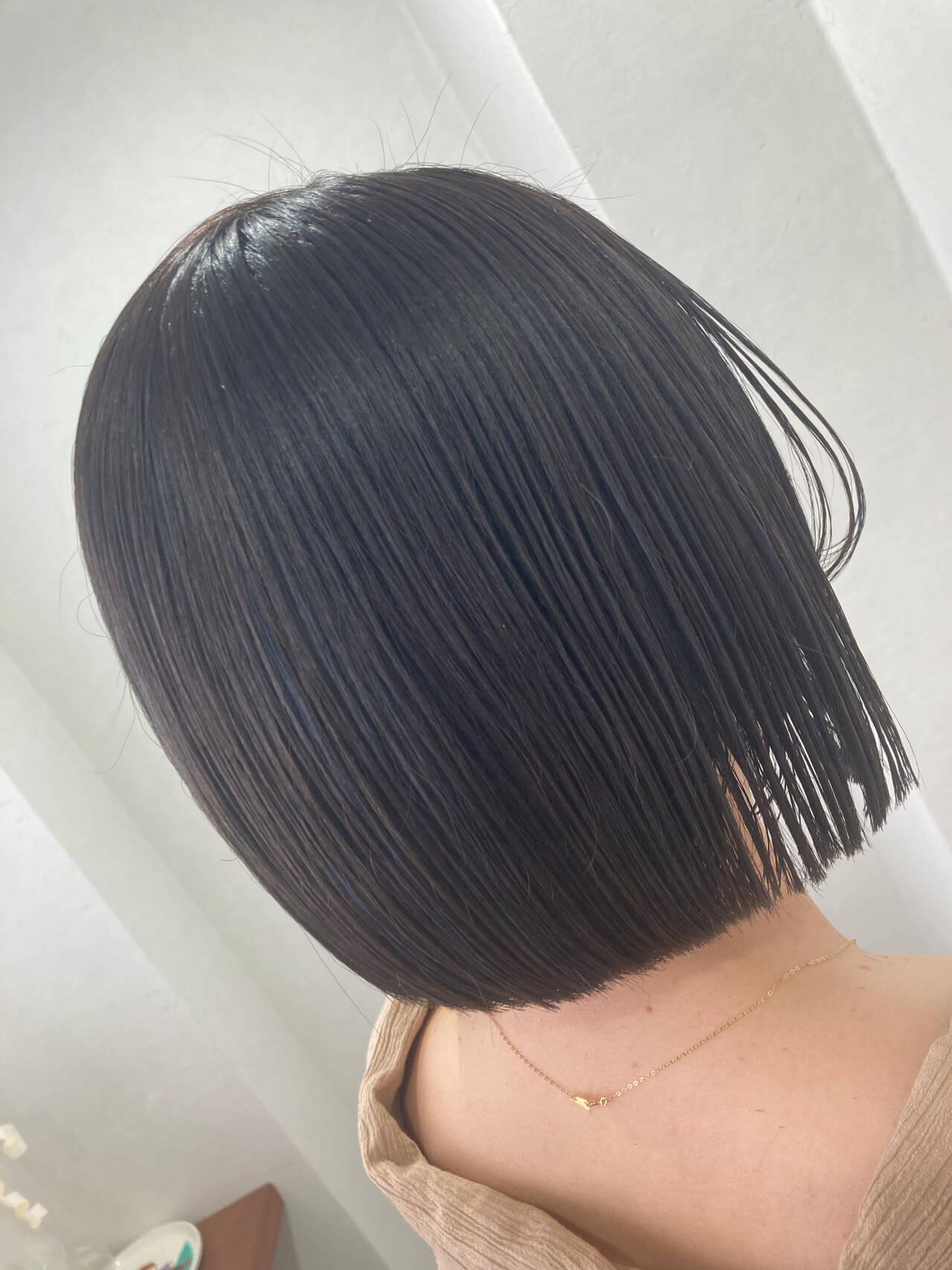 個性的 ショートヘア モード ボブヘアスタイルや髪型の写真・画像