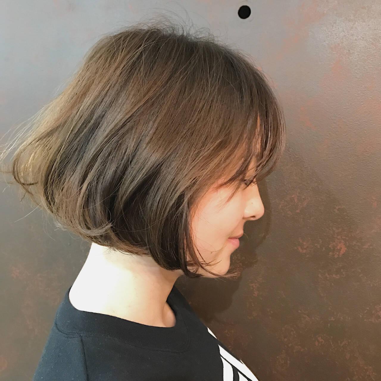 かわいい 色気 大人女子 ボブヘアスタイルや髪型の写真・画像