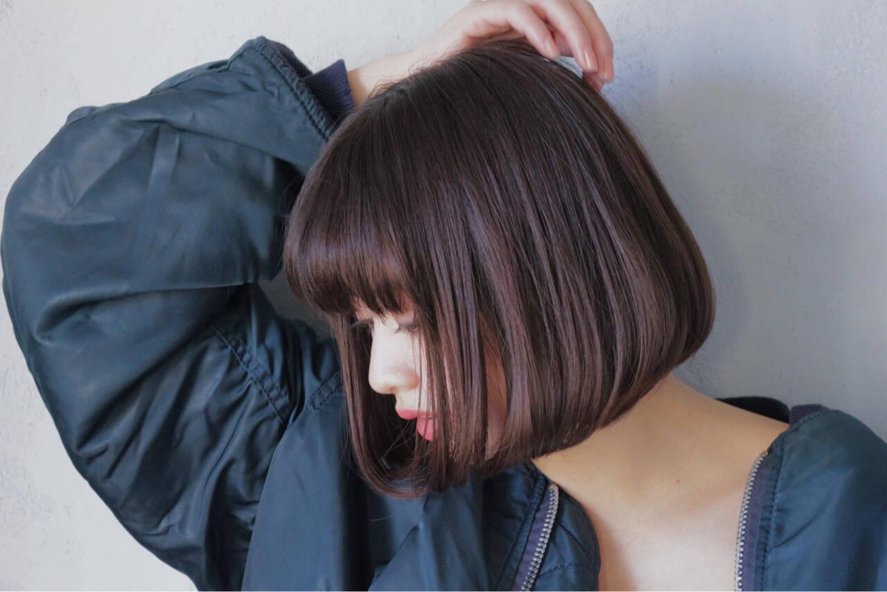 大人女子 前髪あり こなれ感 色気ヘアスタイルや髪型の写真・画像