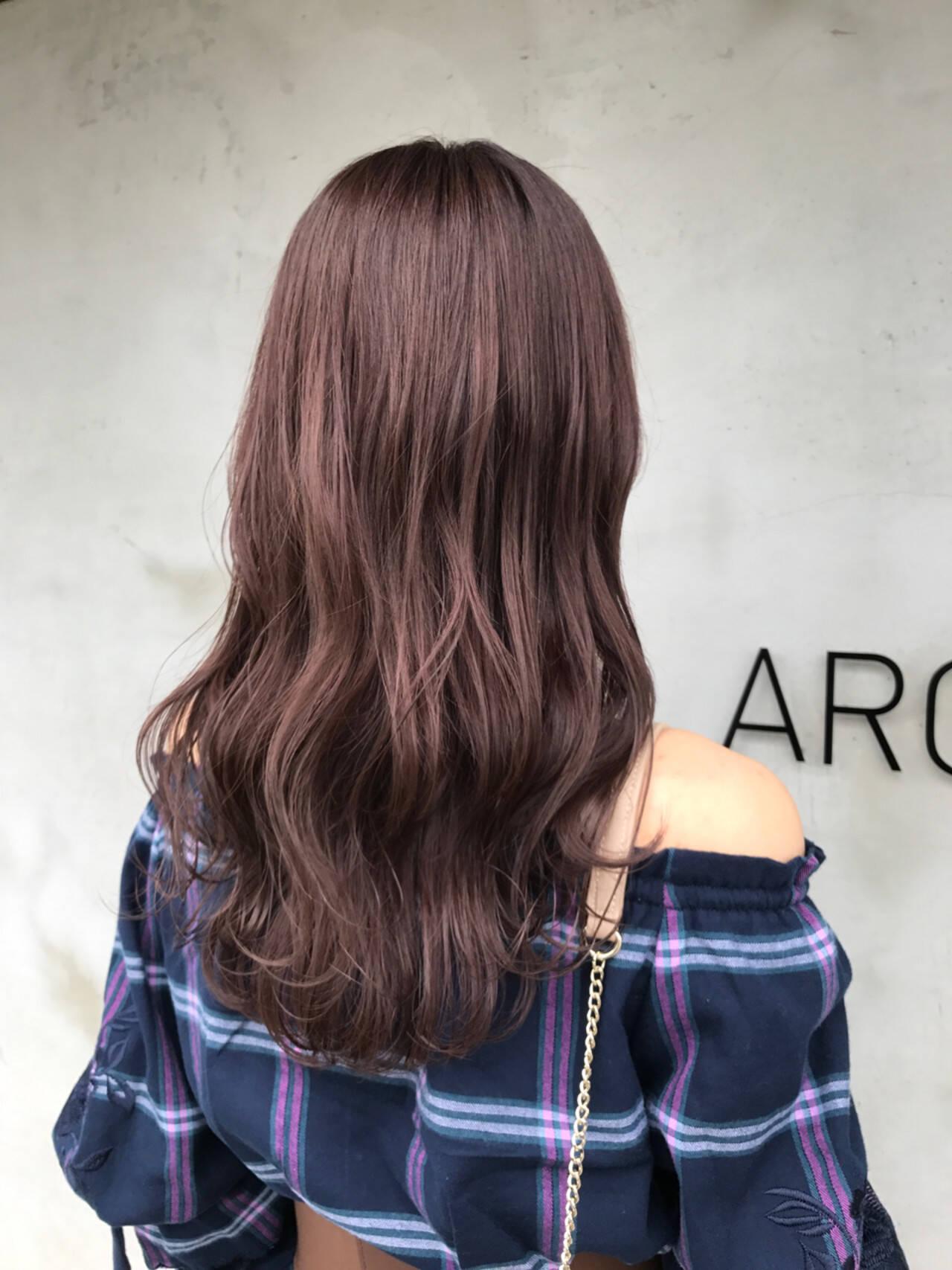 フェミニン セミロング 冬 外国人風カラーヘアスタイルや髪型の写真・画像