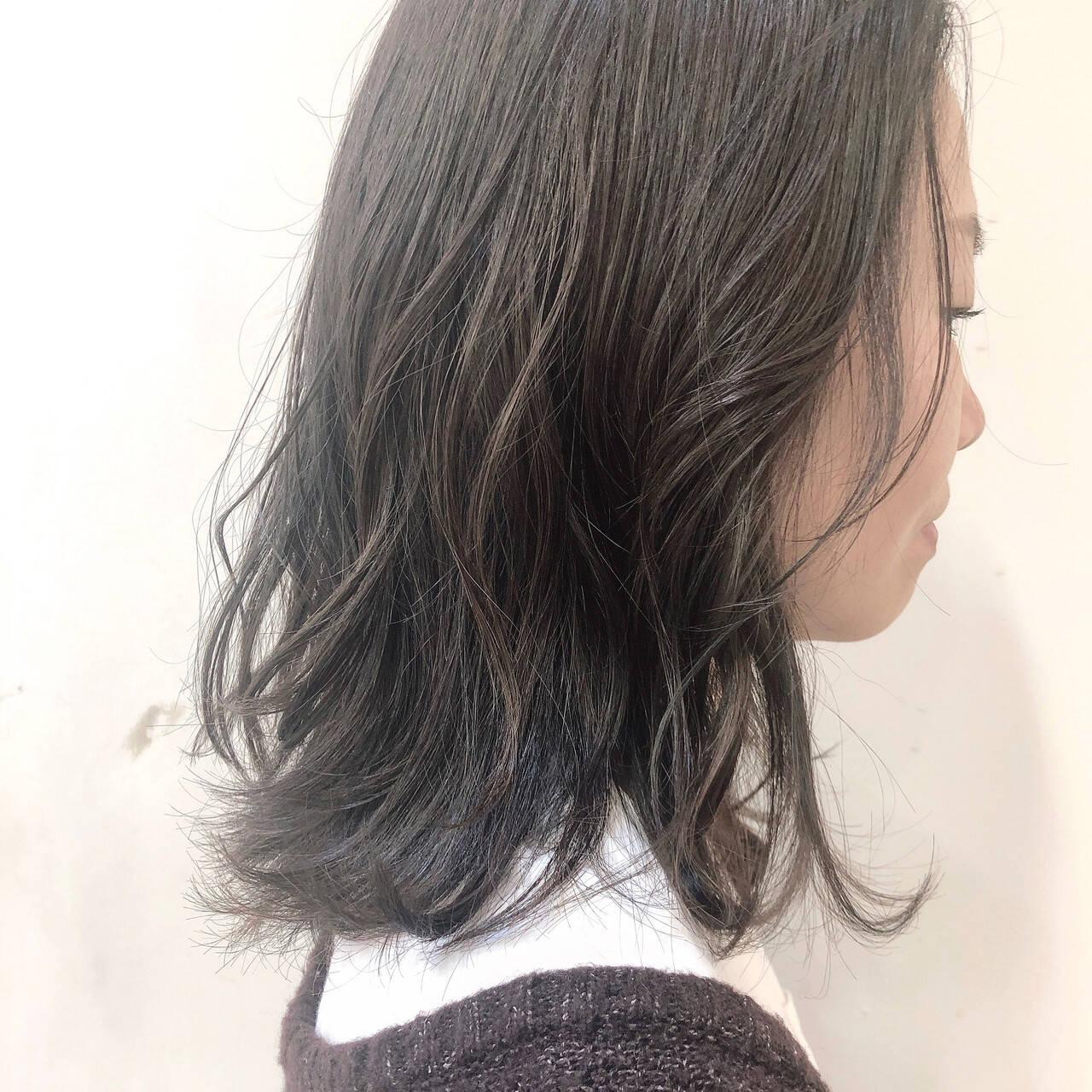 ハイライト 外国人風 ナチュラル 大人ハイライトヘアスタイルや髪型の写真・画像