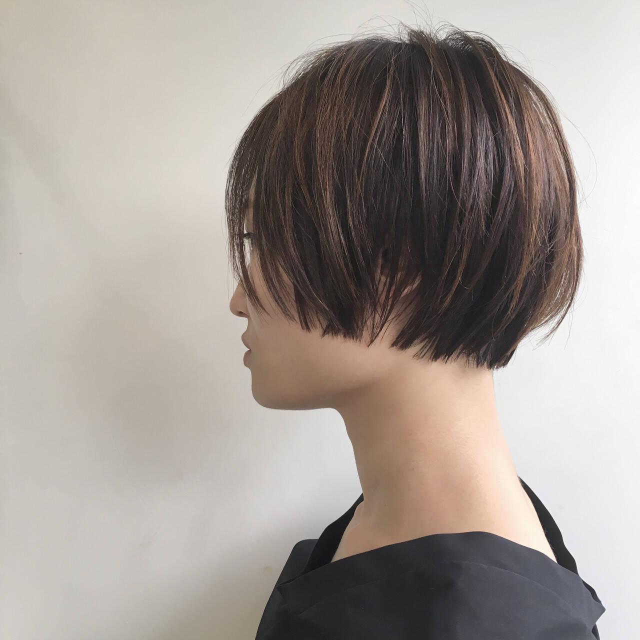 マッシュ リラックス グレージュ ナチュラルヘアスタイルや髪型の写真・画像