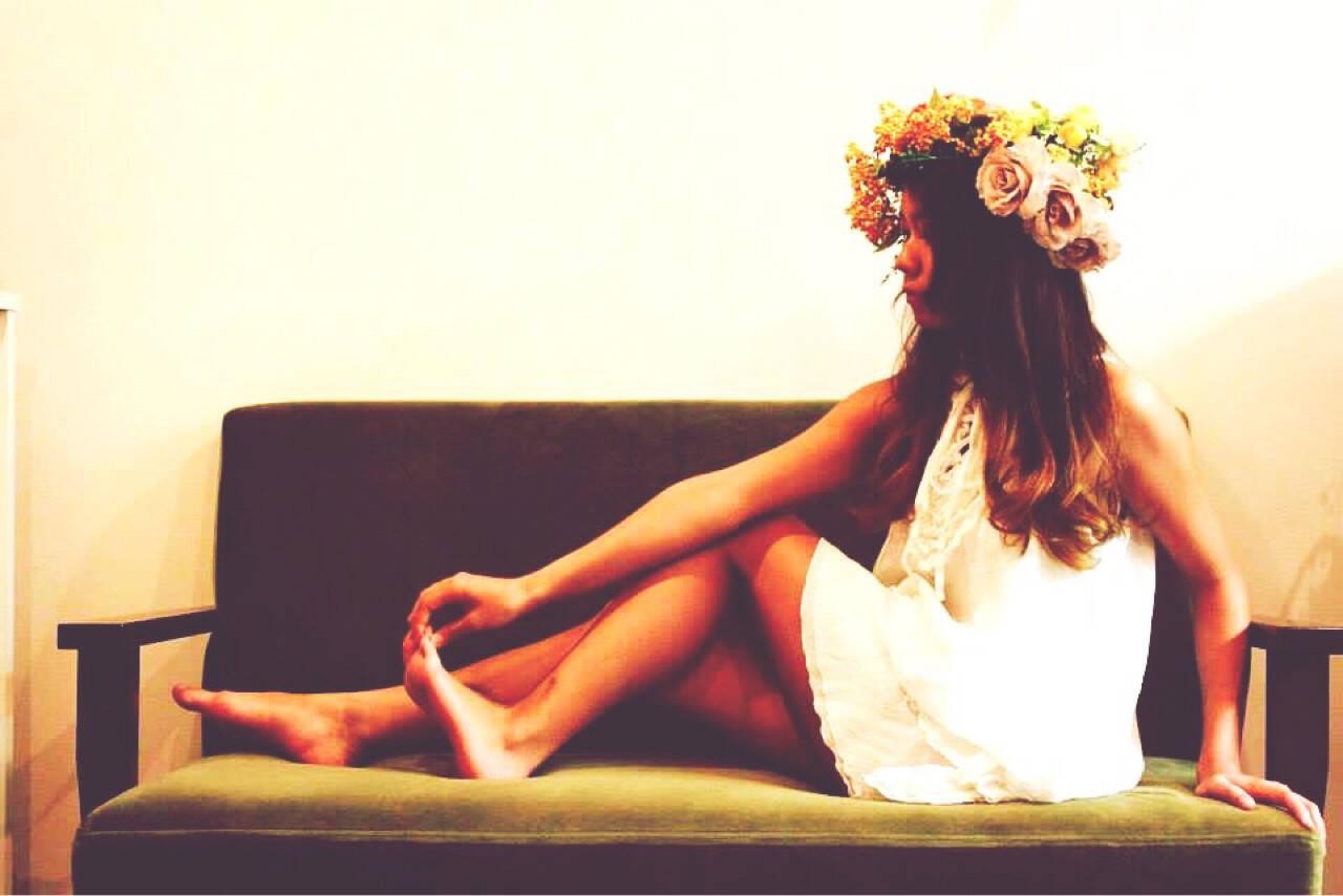 花嫁 ブライダル 結婚式 ヘアアレンジヘアスタイルや髪型の写真・画像