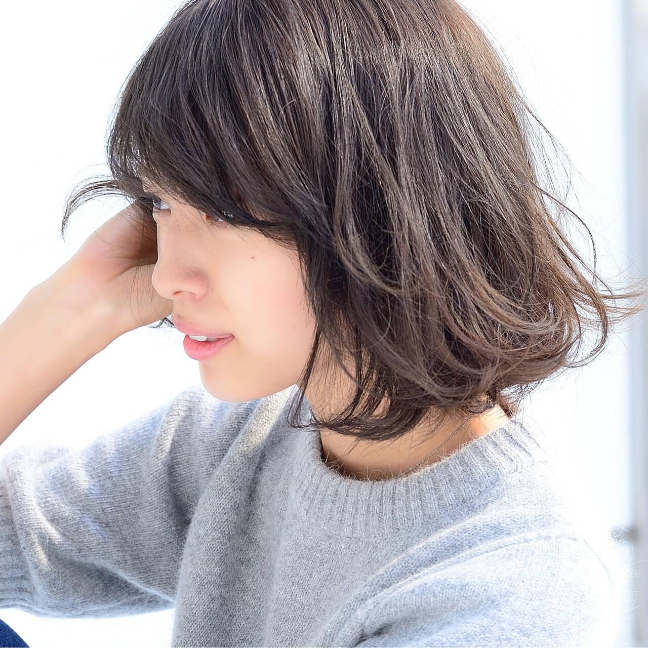 ゆるふわ 大人かわいい 簡単 ナチュラルヘアスタイルや髪型の写真・画像