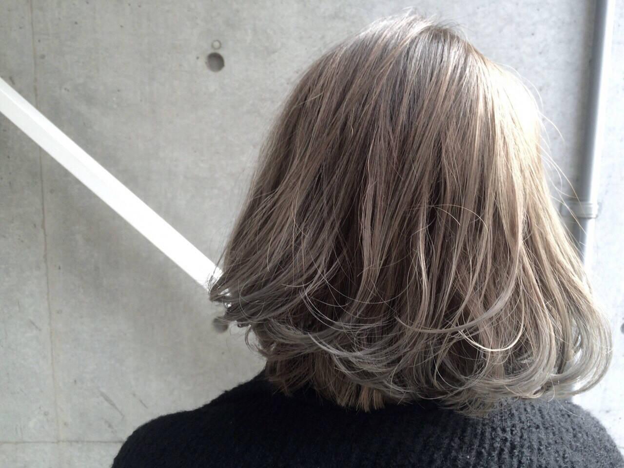 ストリート ブリーチ ブルージュ 外国人風ヘアスタイルや髪型の写真・画像
