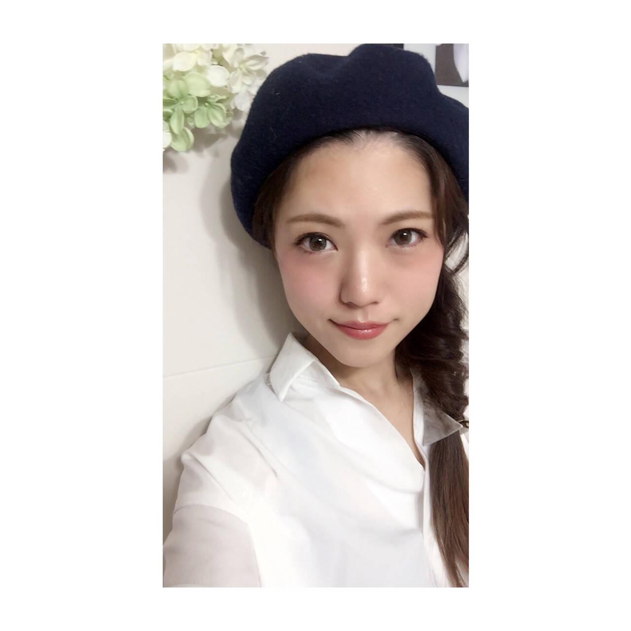 フェミニン ロング 簡単ヘアアレンジ セルフヘアアレンジヘアスタイルや髪型の写真・画像