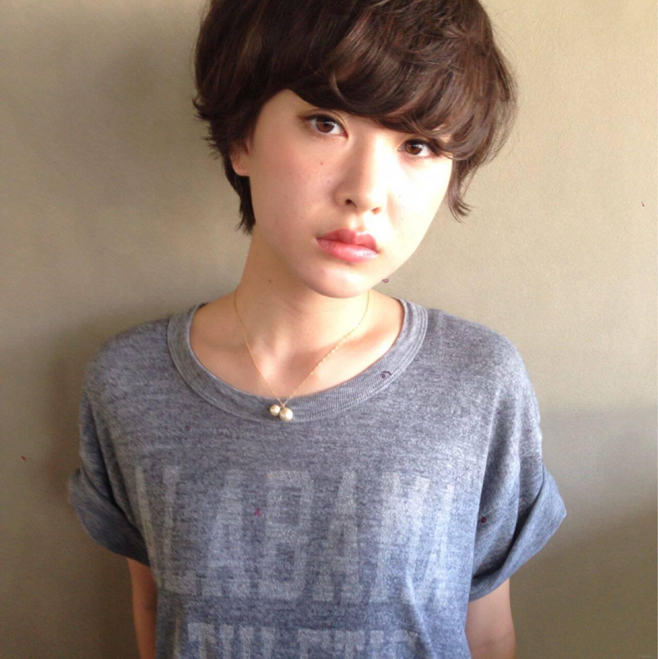 ストリート 秋 モテ髪 ナチュラルヘアスタイルや髪型の写真・画像