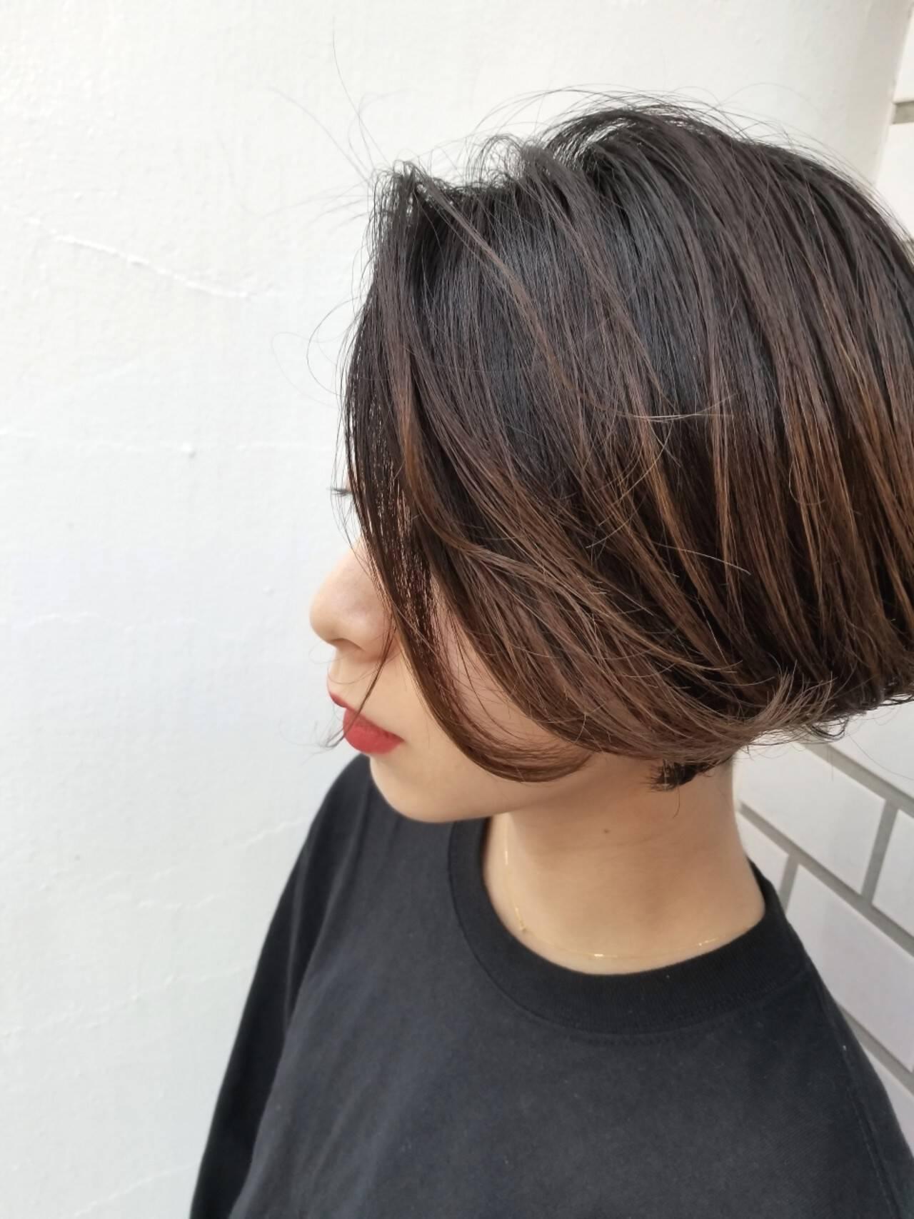 スポーツ 外国人風 オフィス 透明感ヘアスタイルや髪型の写真・画像