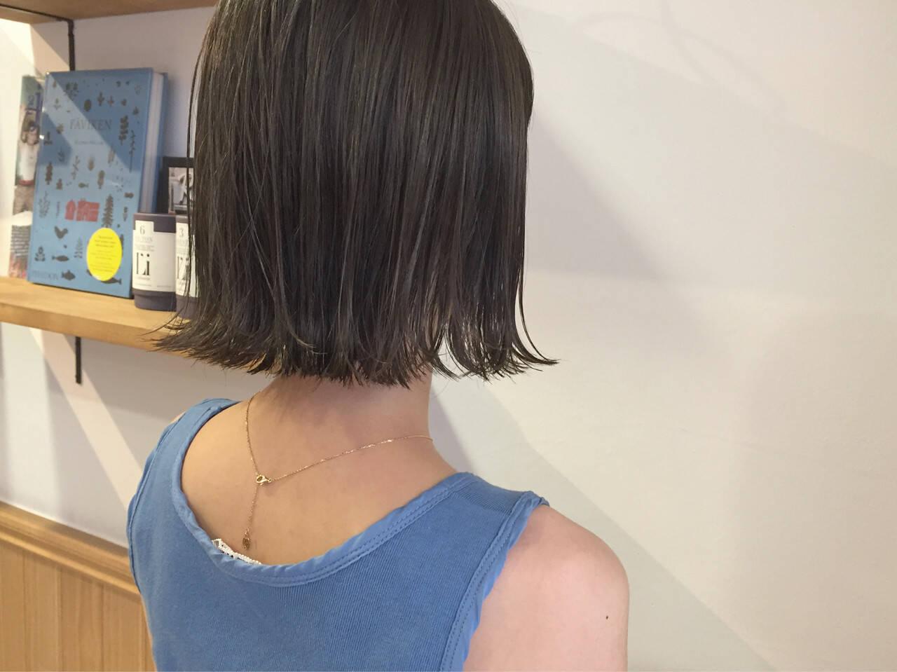透明感 ナチュラル 秋 外ハネヘアスタイルや髪型の写真・画像