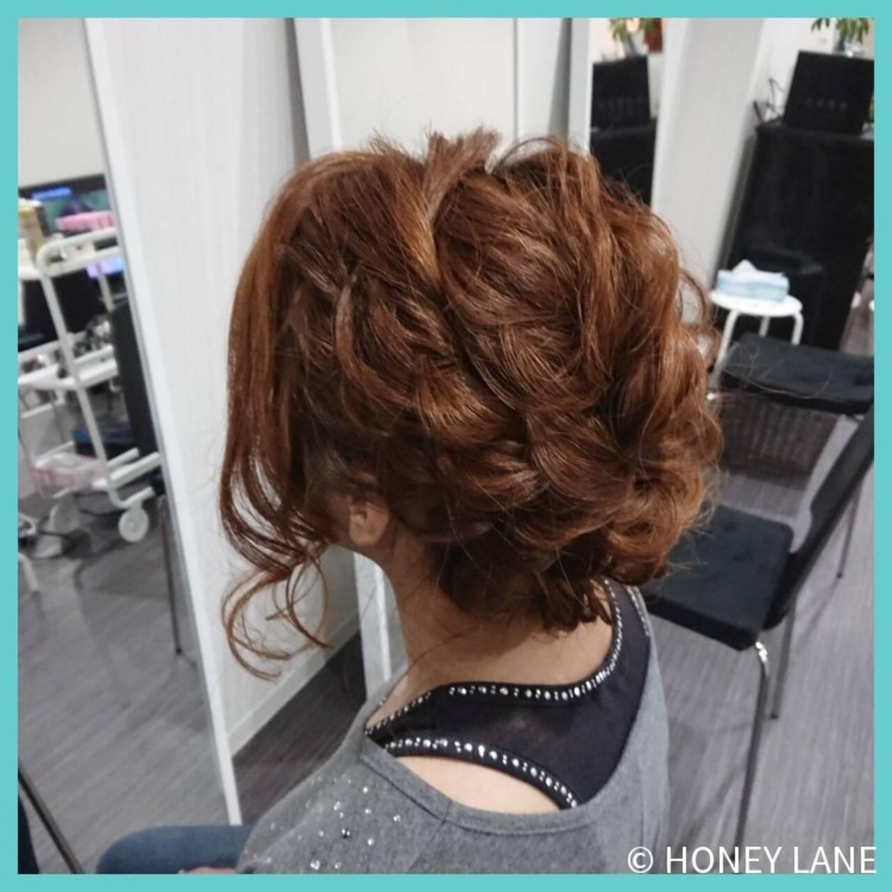 フェミニン デート 女子会 結婚式ヘアスタイルや髪型の写真・画像