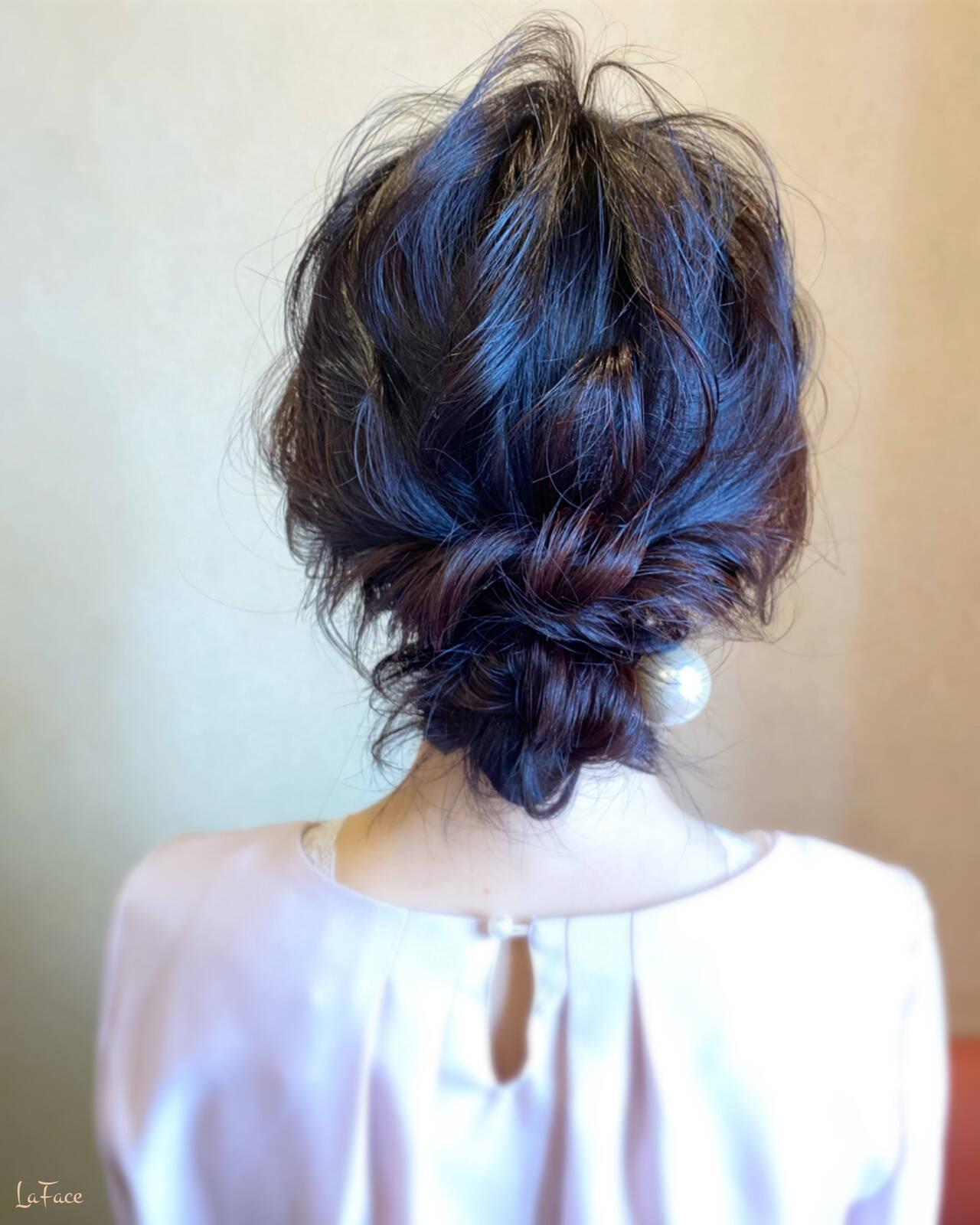 ロング 結婚式 エレガント ヘアアレンジヘアスタイルや髪型の写真・画像