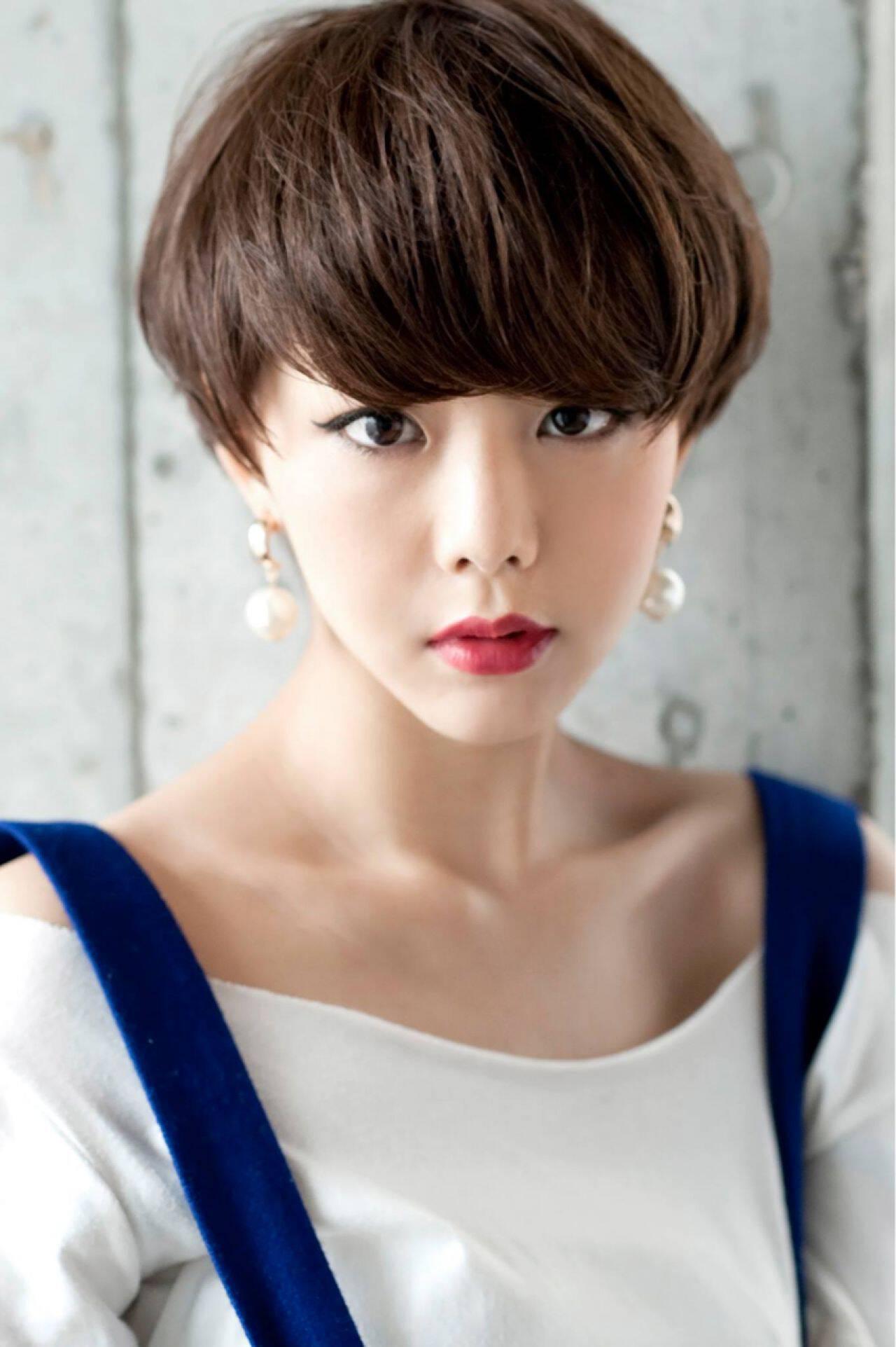 ショート モード セクシーヘアスタイルや髪型の写真・画像