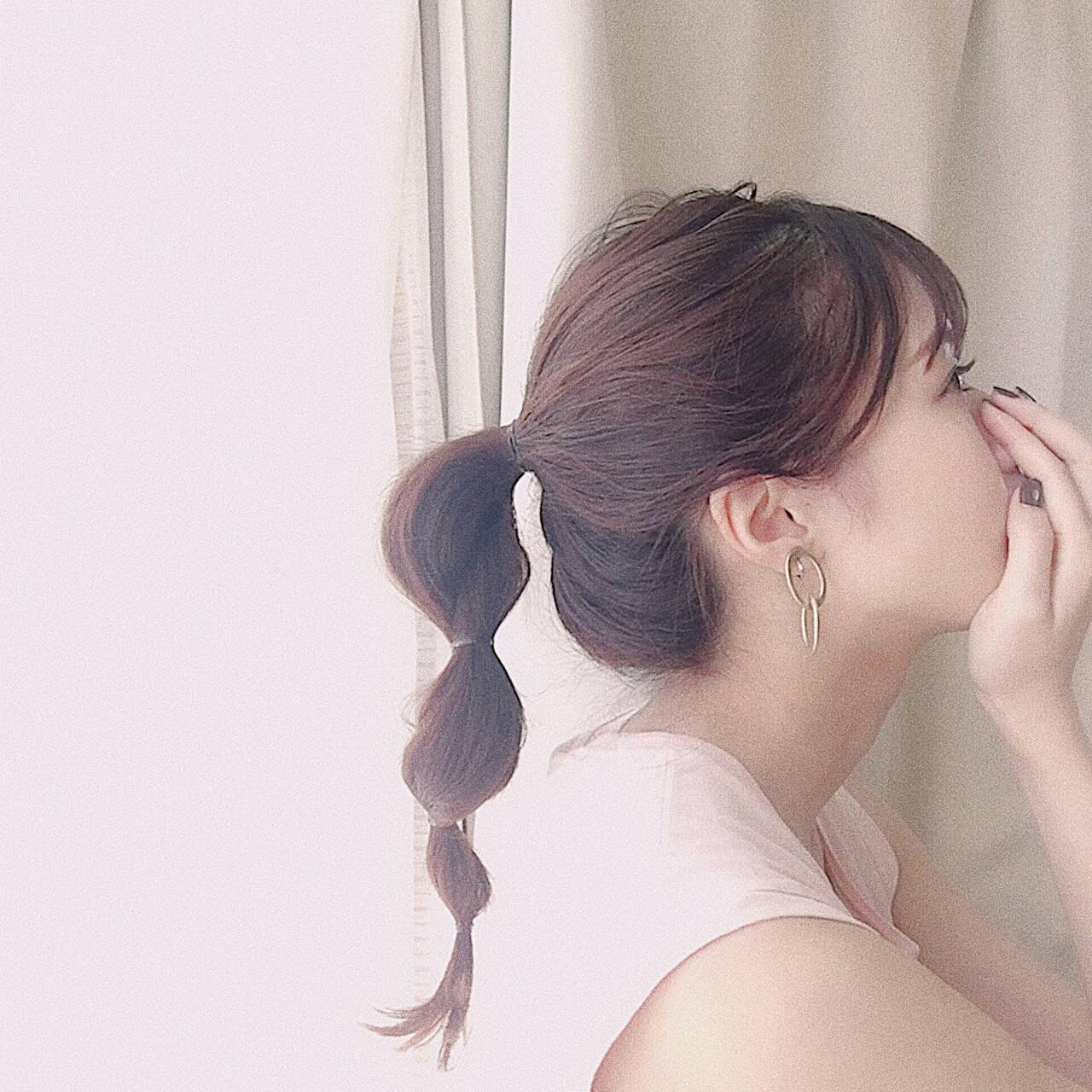 ナチュラル ヘアアレンジ 大人かわいい デートヘアスタイルや髪型の写真・画像