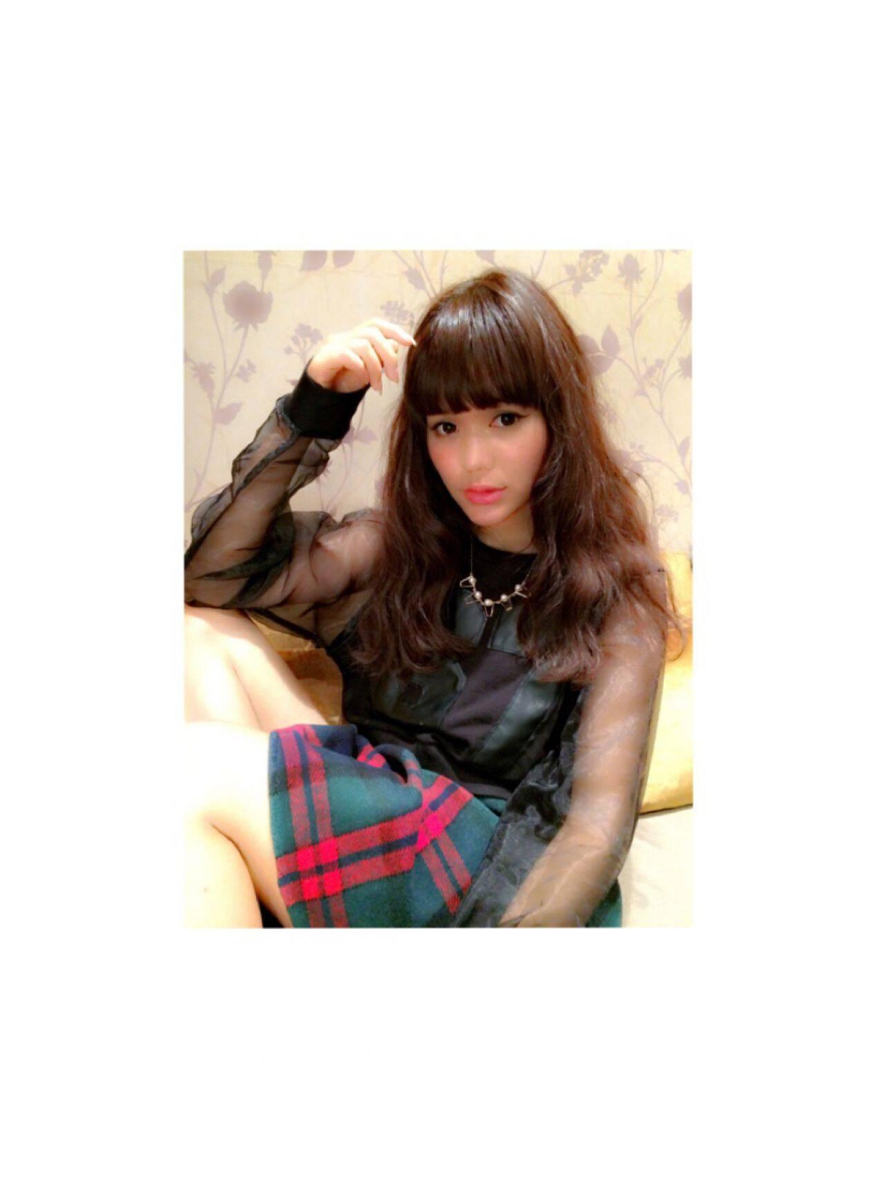 ストレート モテ髪 コンサバ 秋ヘアスタイルや髪型の写真・画像