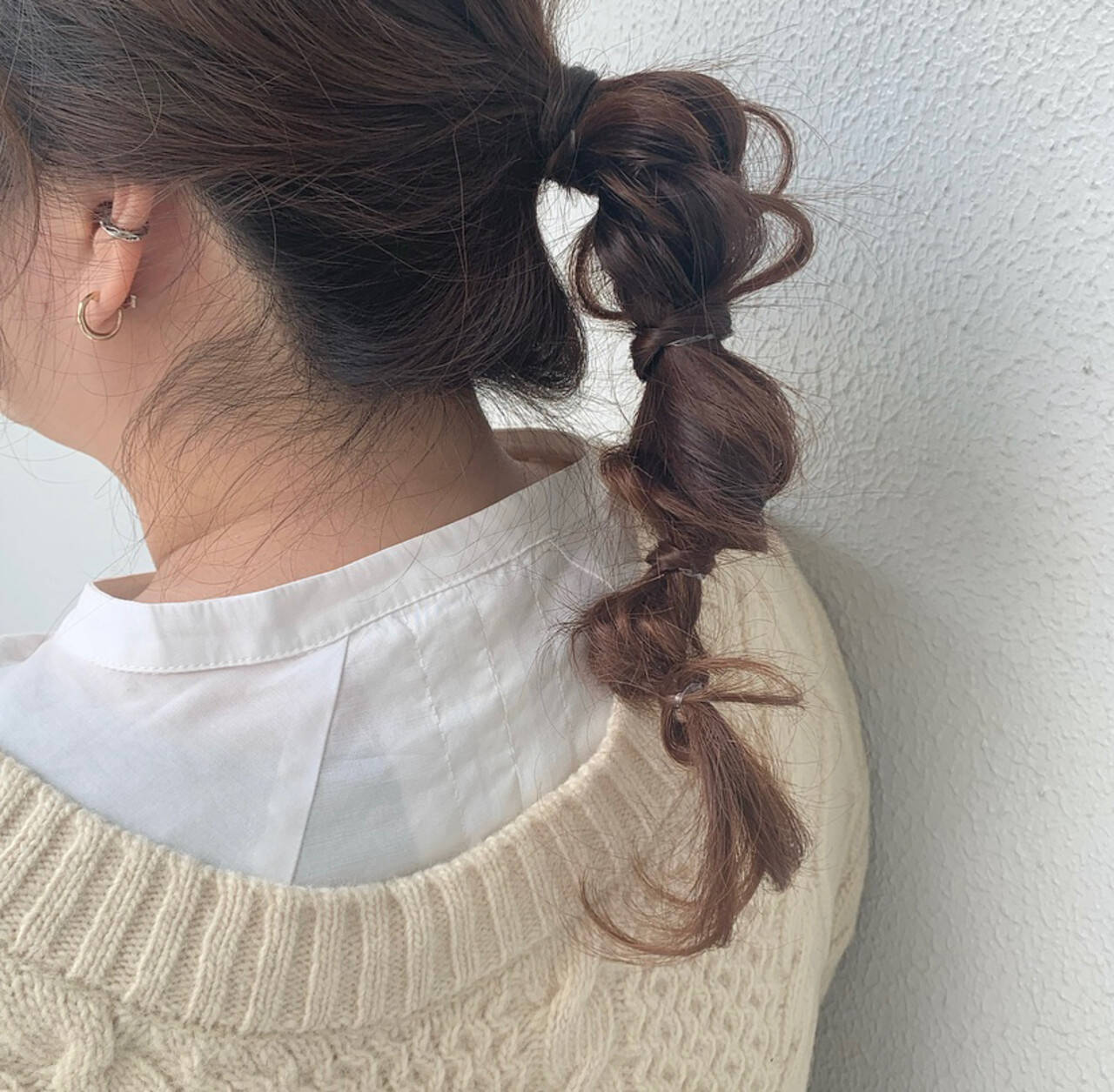 簡単ヘアアレンジ ロング ふわふわヘアアレンジ ヘアアレンジヘアスタイルや髪型の写真・画像