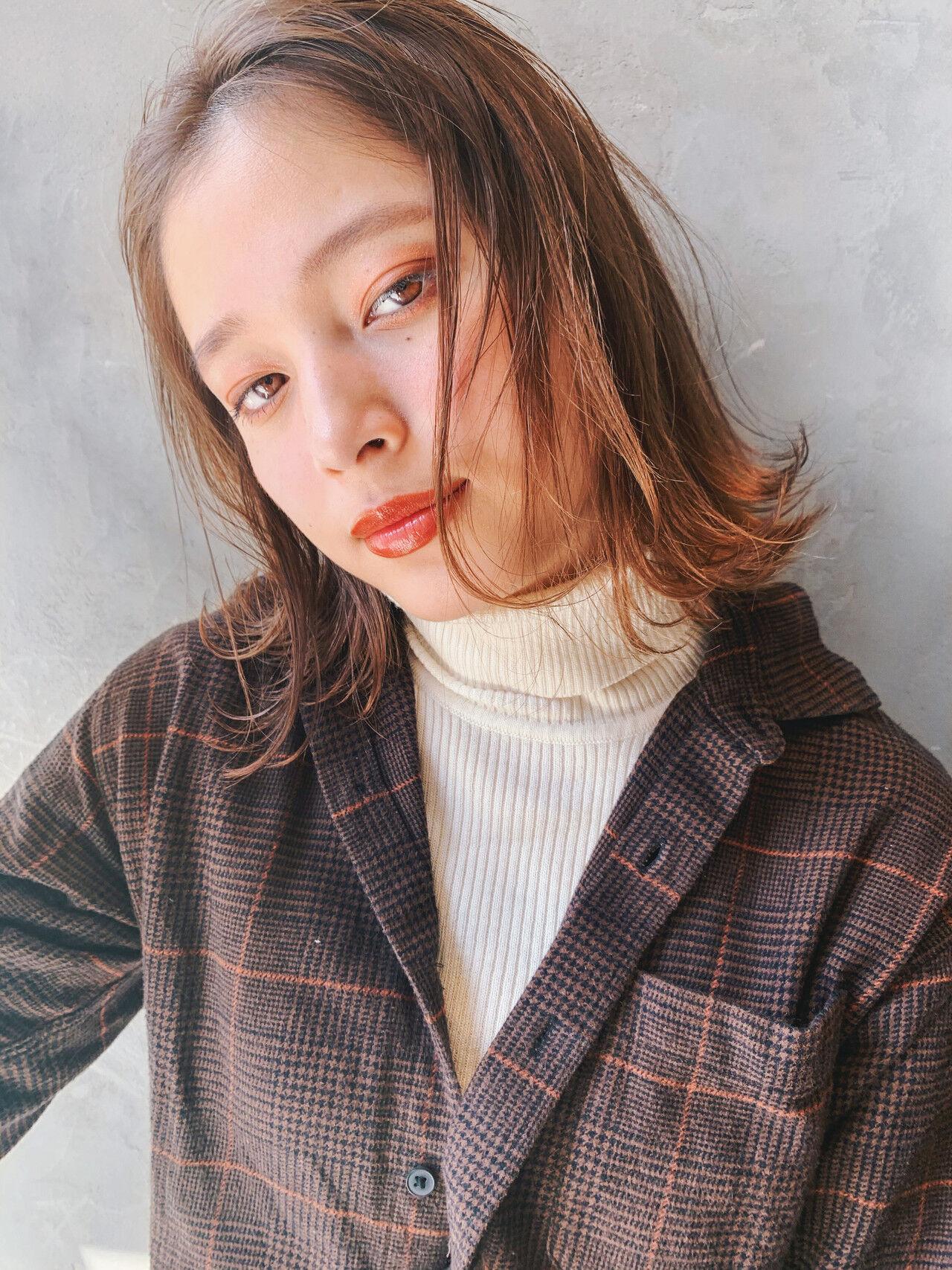 ナチュラル ミニボブ ショートボブ ショートヘアヘアスタイルや髪型の写真・画像