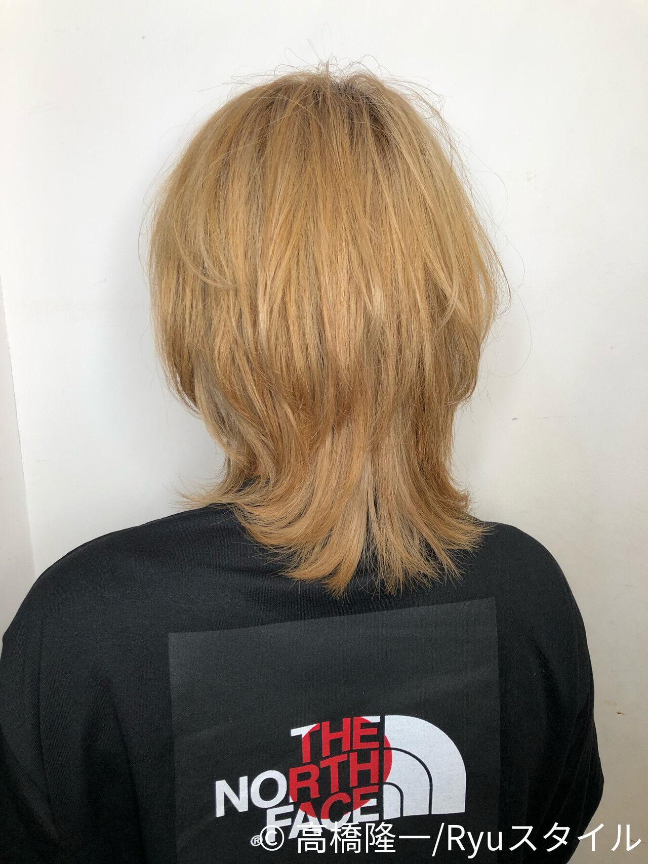 イルミナカラー ホワイティベージュ ミディアム 外国人風ヘアスタイルや髪型の写真・画像