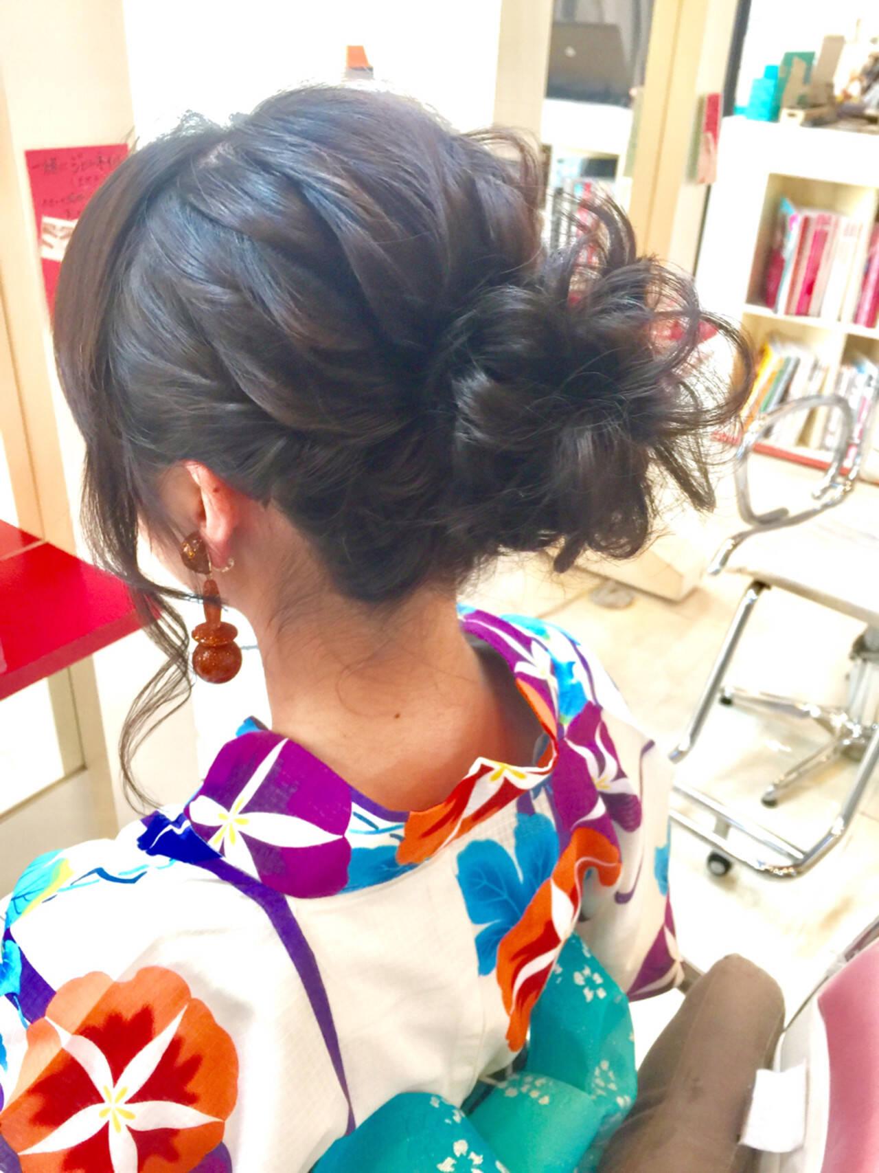 色気 ヘアアレンジ 涼しげ 編み込みヘアスタイルや髪型の写真・画像