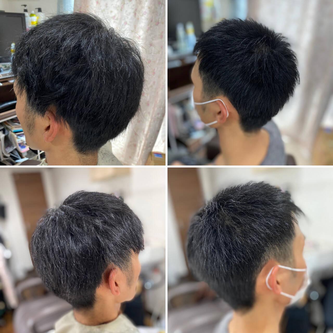 ツーブロック メンズヘア メンズスタイル ストリートヘアスタイルや髪型の写真・画像