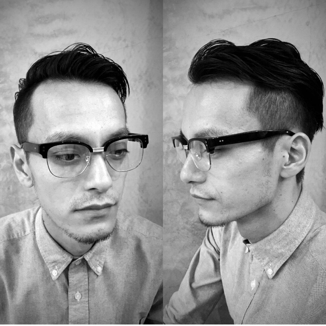 ボーイッシュ ショート 刈り上げ メンズヘアスタイルや髪型の写真・画像