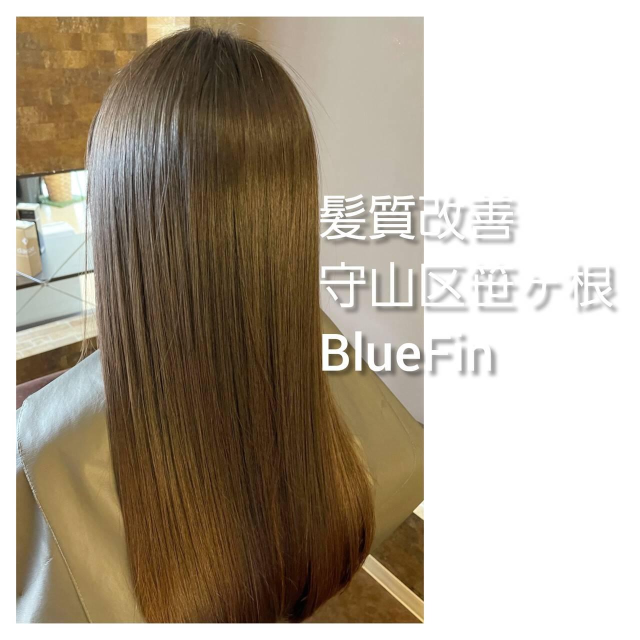 髪の病院 美髪 ロング ナチュラルヘアスタイルや髪型の写真・画像