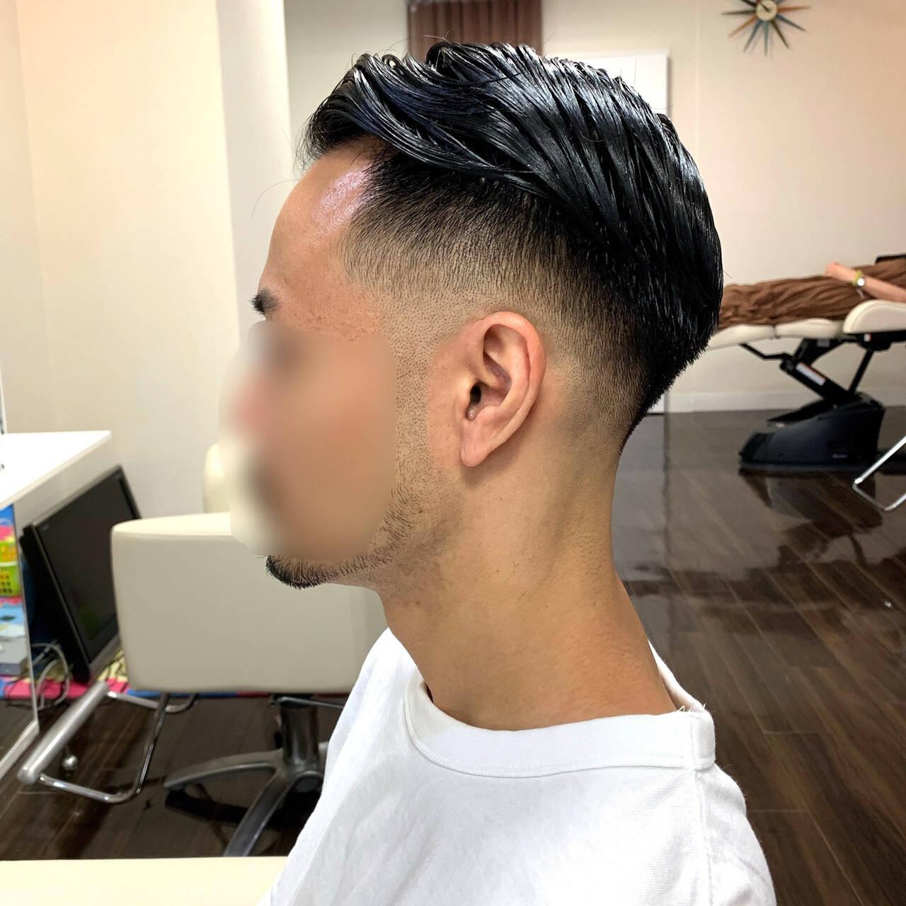 メンズショート メンズカット ストリート ショートヘアスタイルや髪型の写真・画像