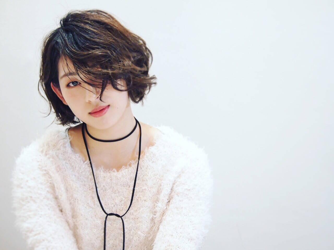 かわいい モード 女子会 ボーイッシュヘアスタイルや髪型の写真・画像
