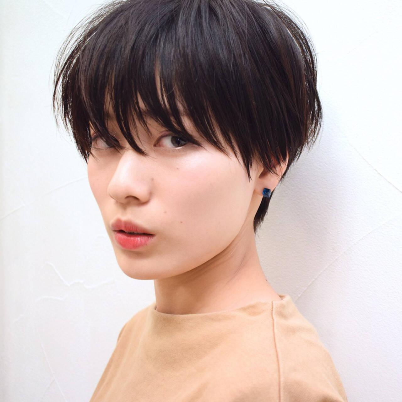 デート パーマ ショート ヘアアレンジヘアスタイルや髪型の写真・画像