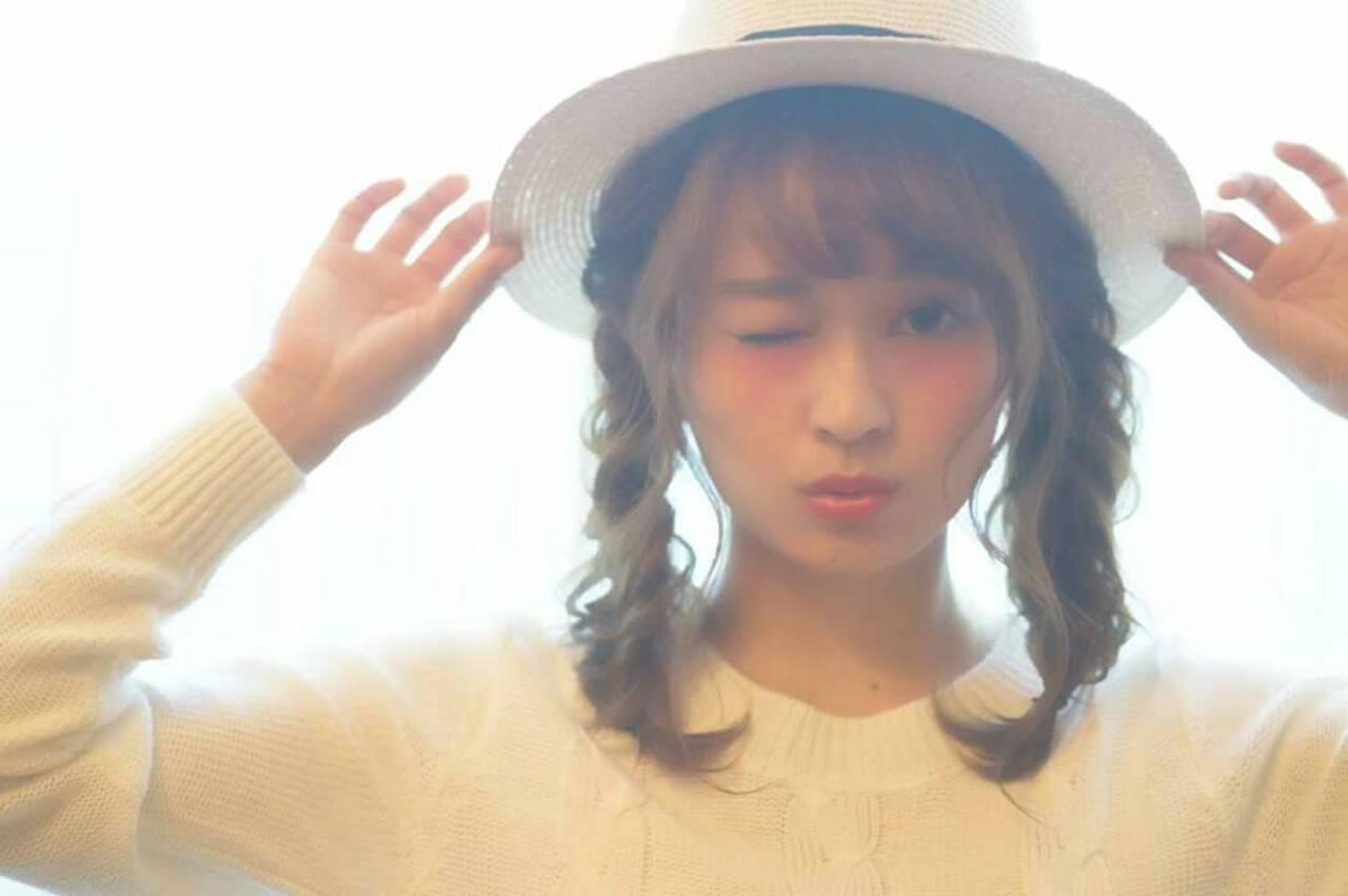 おフェロ ショート 簡単ヘアアレンジ ヘアアレンジヘアスタイルや髪型の写真・画像