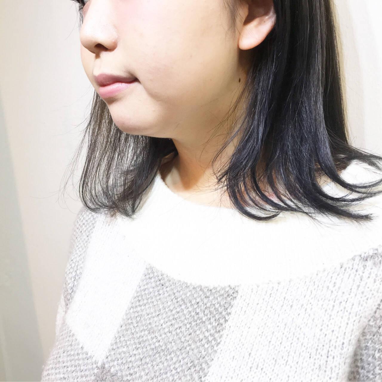 ウルフカット マッシュ ミルクティー フリンジバングヘアスタイルや髪型の写真・画像