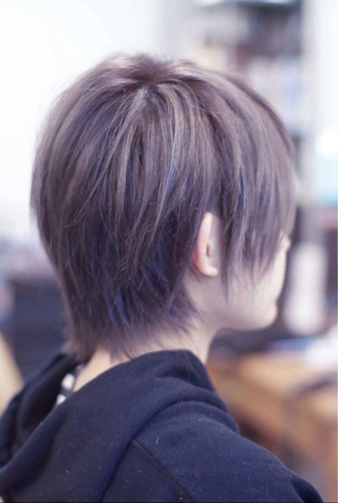 外国人風 小顔 ハイライト ストリートヘアスタイルや髪型の写真・画像