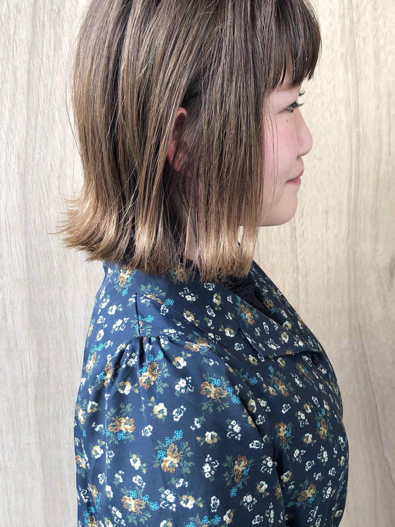 ショートボブ 外ハネボブ ボブ ハンサムショートヘアスタイルや髪型の写真・画像