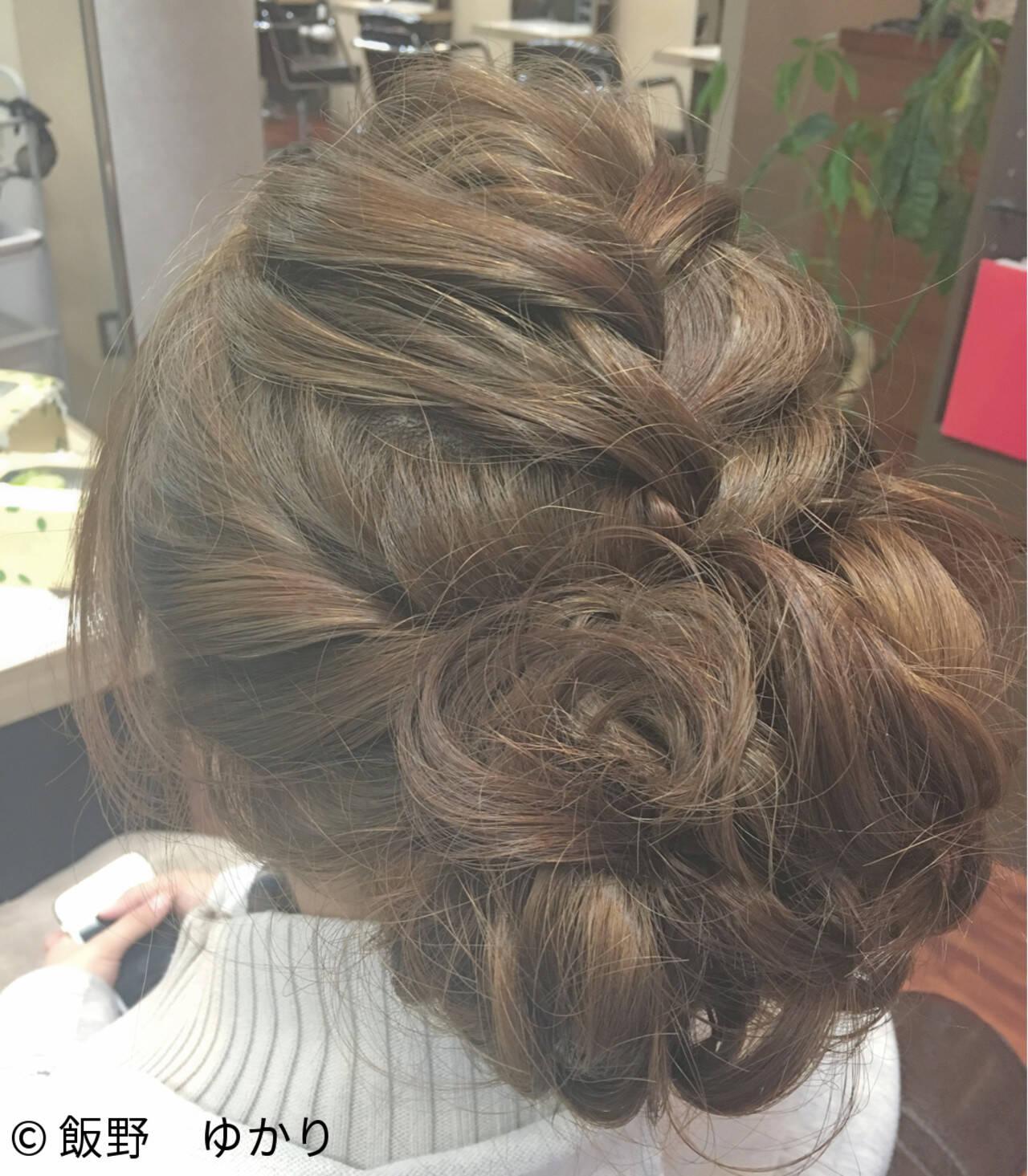 ヘアアレンジ 簡単ヘアアレンジ 謝恩会 ロングヘアスタイルや髪型の写真・画像