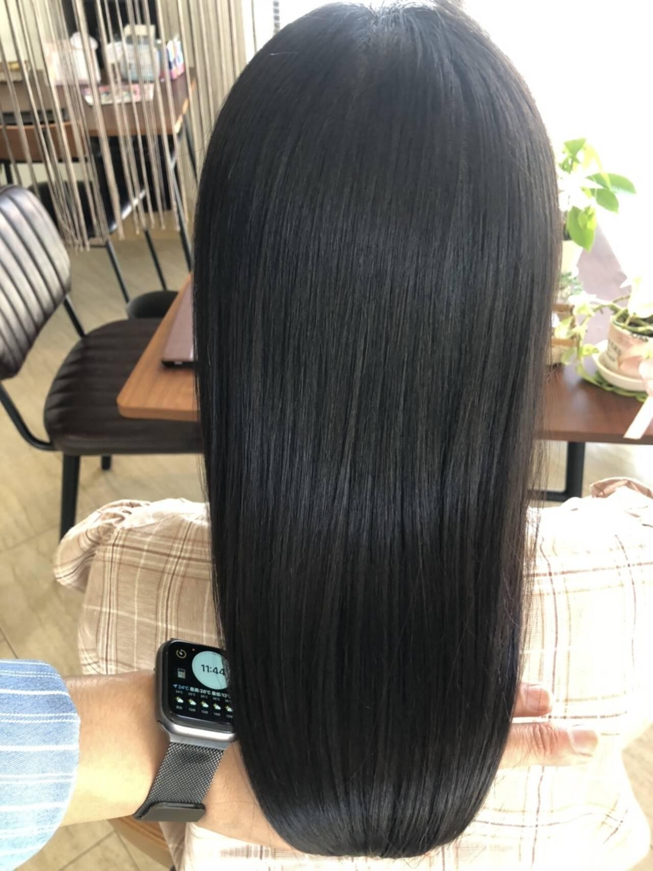 美髪 髪質改善 ロング 名古屋市守山区ヘアスタイルや髪型の写真・画像