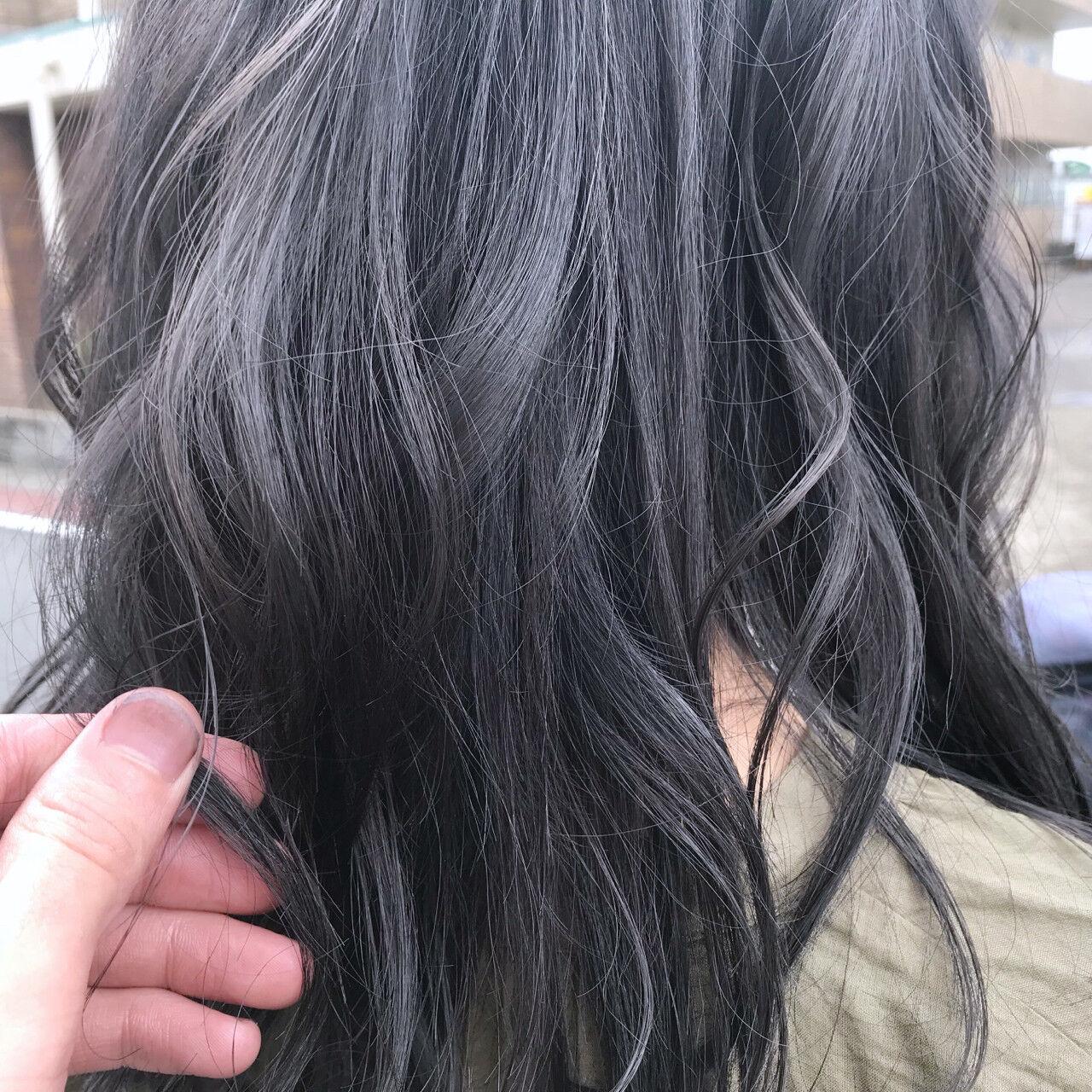 透明感 外国人風カラー アッシュ ゆるふわヘアスタイルや髪型の写真・画像